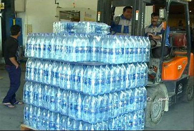 تامین موقت آب شرب روستاهای گیلان با توزیع آب معدنی