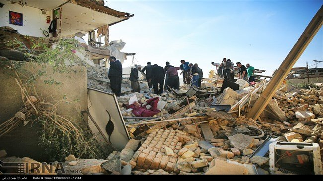UN chief offers condolences to Iran after powerful quake