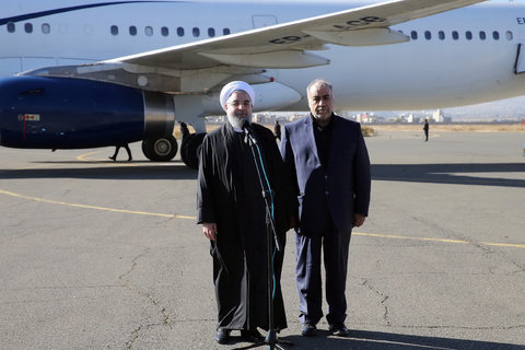 Rouhani in Kermanshah