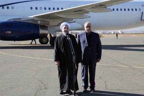 Rouhani in Kermanshah
