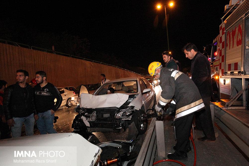 واژگونی خودرو در میمه  ۶ مجروح داشت
