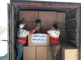 کمک های مردمی از گلپایگان به مناطق زلزله زده غرب کشور ارسال میشود
