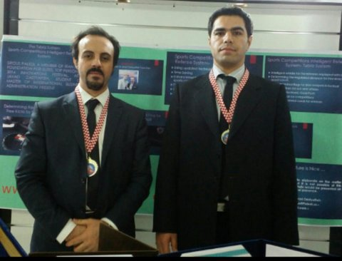 Two Iranian inventors auction their medals for quake-hit kids