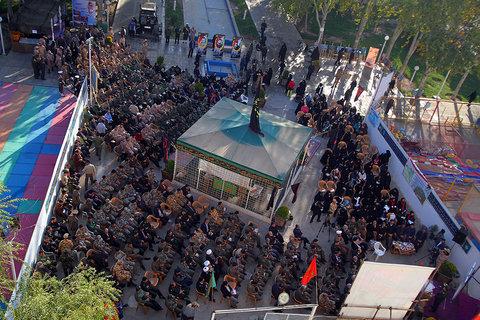 نخستین سالگرد تشییع و تدفین پیکر ۵ شهید گمنام-باغ غدیر