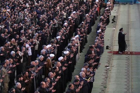 نماز عبادی سیاسی جمعه اصفهان در مصلای بزرگ امام خمینی (ره)