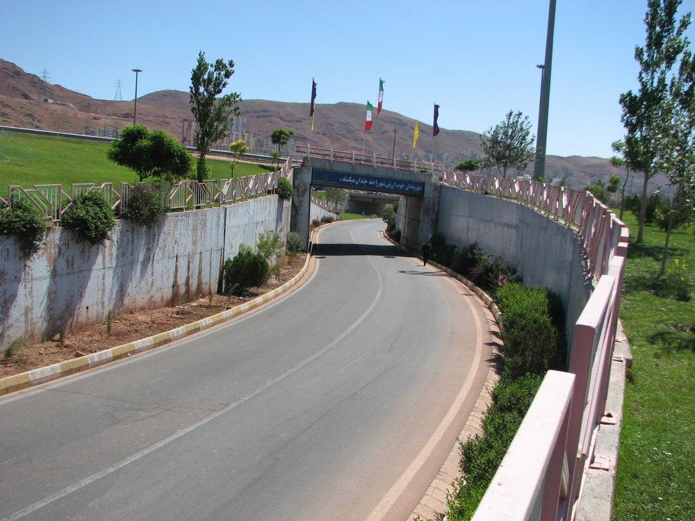 پروژه زیرگذر بزرگ شهر کاشان کلید خورد