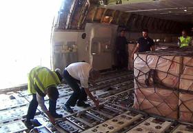انجام بیش از ۵۰۰ پرواز فوق العاده به استان زلزله زده/ انتقال ۲۷۸ مصدوم و ۸۷۸ تن بار
