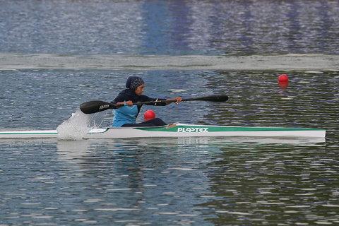 ملایی شانس کسب مدال را از دست داد/ تلاش قایقران ایرانی برای کسب رتبه های هفتم تا دوازدهم