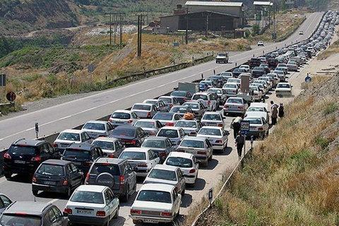 آخرین وضعیت ترافیکی جادههای کشور در ۲۶ شهریورماه