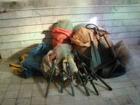 کشف و ضبط  ادوات شکار و صید در کاشان