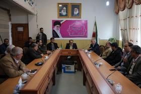 جلسه مشترک شهردار و رییس شورا و اعضای شورای شهر اصفهان با فرماندار ثلاث باباجانی