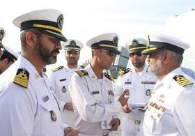 ناوگروه ارتش پاکستان وارد بندرعباس شد