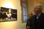 بازدید شهردار اصفهان از نمایشگاه عکس تحسین محسن