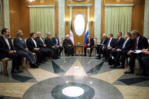 همکاری های تهران و مسکو موجب تقویت صلح و ثبات پایدار منطقه است