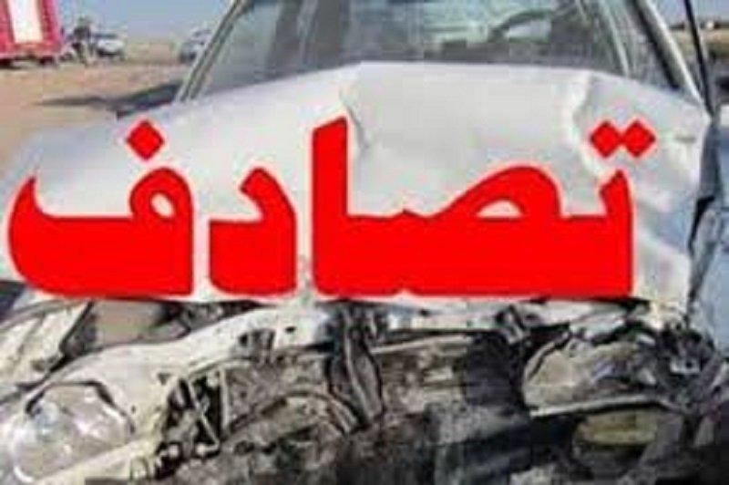 تصادف پراید یک کشته و ۲ مجروح برجای گذاشت