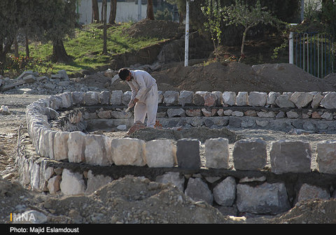 Rose Garden of Pardis Honar Project To Be Completed in Week