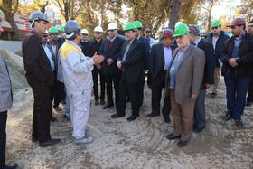 بازدید شهردار، رییس و اعضای شورای شهر اصفهان از پروژه مترو-ایستگاه انقلاب