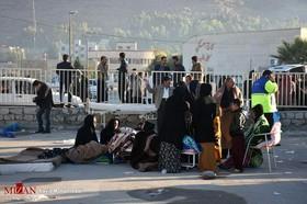 ۱۱ مجروح در زلزله شب گذشته کوزران/ ۲ نفر به بیمارستان منتقل شدند