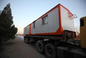 تأمین ۲۶۰ کانکس برای هموطنان زلزلهزده توسط فولاد مبارکه اصفهان