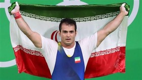 Iranian weightlifter pockets silver in US World Champs