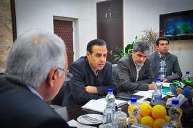 دیدار مدیران استان با شهردار اصفهان