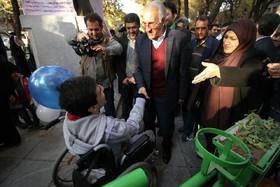 قدرت الهی در توانمندی های معلولین نهفته/ آرزوی ما ساختن شهری برای آسایش معلولین است