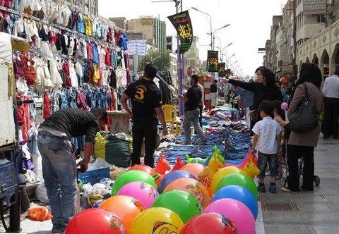 مشهد نخستین شهر بدون مشاغل مزاحم و دستفروش در کشور