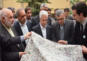 Iran's Minister of Science, Research & Technology Visits ISTT