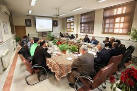 جلسه مشترک شهردار، رییس، اعضای شورای شهر و معاونین شهرداری اصفهان در منطقه۸