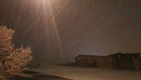 رقص دانه های برف در فریدن+ تصاویر