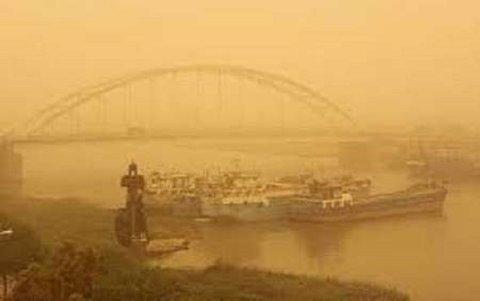 هواشناسی خوزستان نسبت به وقوع رگبار و گرد و خاک اطلاعیه صادر کرد