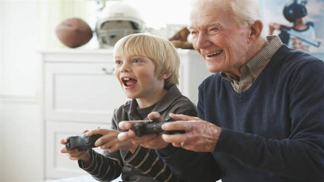 Older people slow down ageing by playing video games