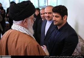 علیرضا کریمی با رهبر معظم انقلاب دیدار کرد + تصاویر