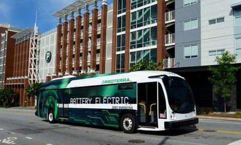 اتوبوس هاي الکتريکي