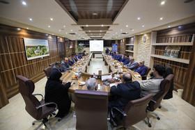 جلسه مشترک شهردار، اعضای شورای شهر و معاونین شهرداری اصفهان در منطقه ۱۱