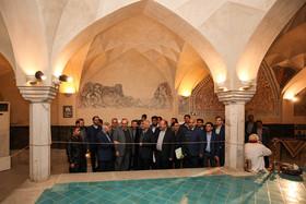 بازدید شهردار و اعضای شورای شهر اصفهان از جاذبه های گردشگری در منطقه ۱۱ اصفهان