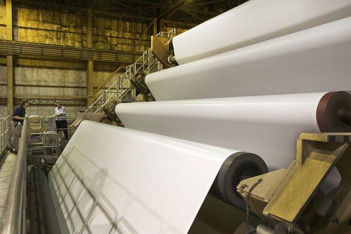 افزایش ۳۵ درصدی تولید انواع کاغذ در ۱۰ ماهه ۹۶