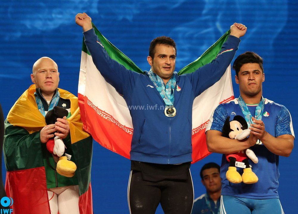 وزنهبردار اصفهانی کاندیدای بهترین وزنهبردار جهان شد + لینک نظرسنجی