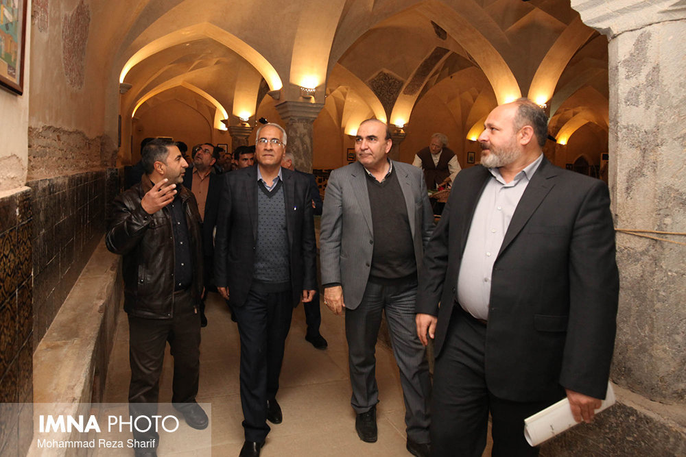 Mayor & Councilors visit Isfahan Tourist Attractions of District 11