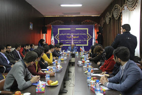 سلسله نشستهای «اصفهان فردا»/ با حضور جمعی از فعالین دانشجویی دانشگاه های اصفهان