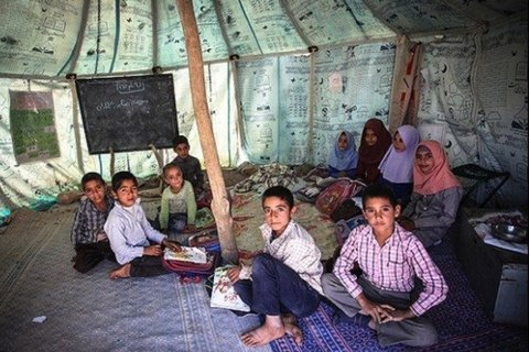 ۱۵۸ مدرسه عشایری در اصفهان دایر است