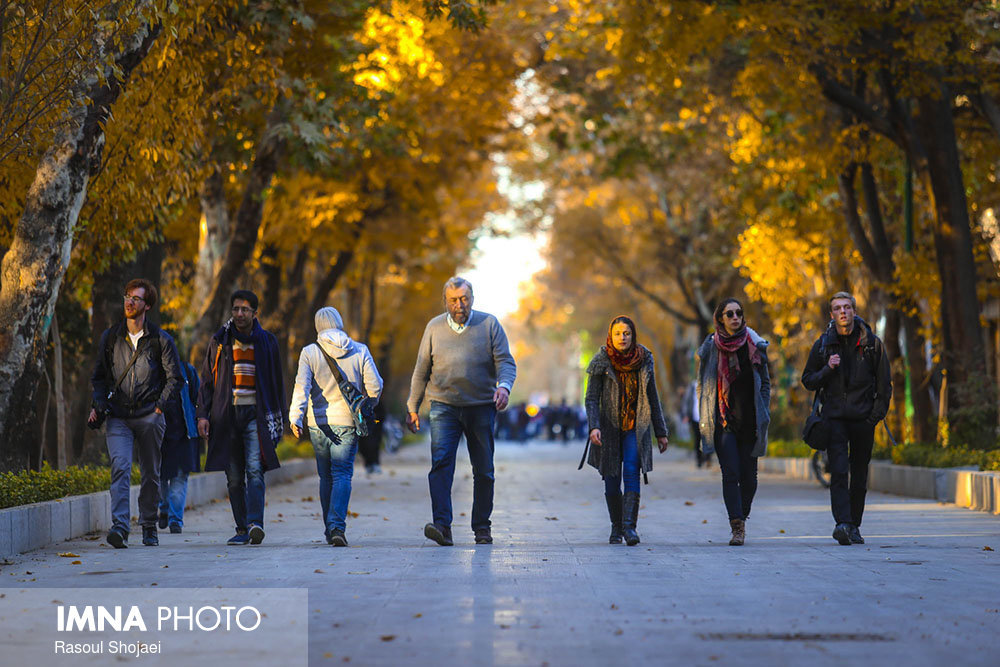 Car-free Tuesdays in Isfahan