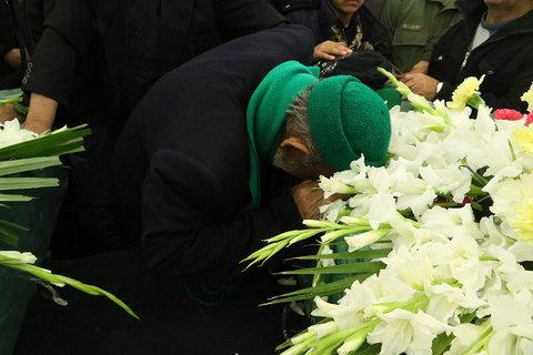 تشییع سه شهید مدافع حرم در اصفهان
