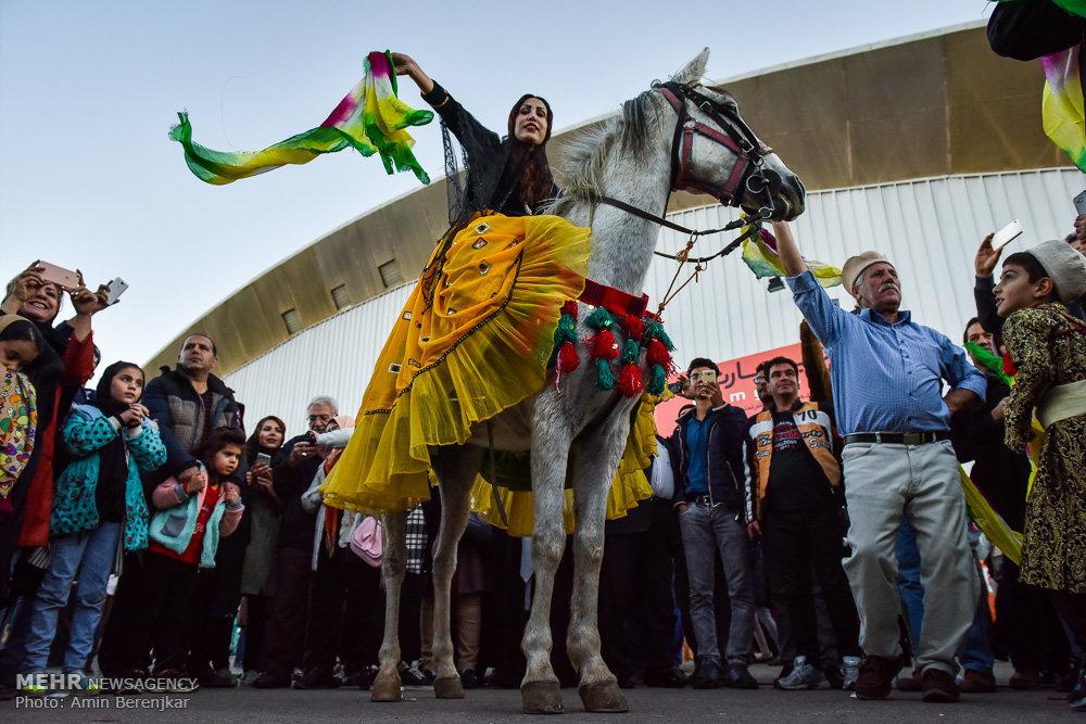 Qashqai traditional wedding ceremony in Shiraz