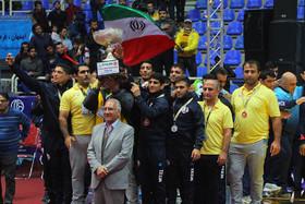اصفهان، قهرمان مسابقات کشتی فرنگی جام باشگاههای جهان