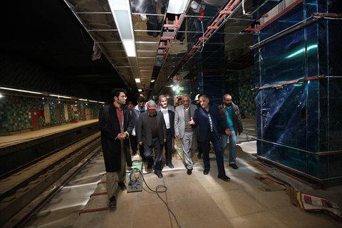 بازدید مترو