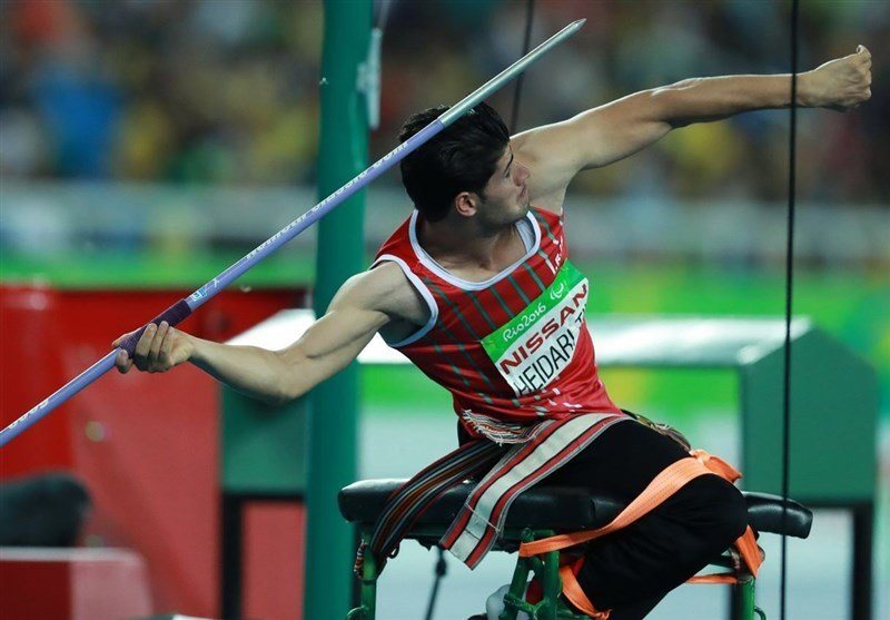 Iranian javelin thrower grabs gold medal in UAE Para Games