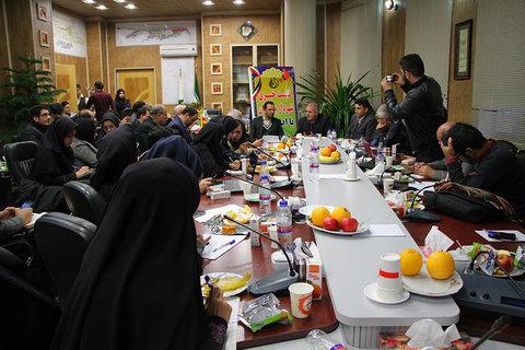 نشست خبری شهردار و رییس شورای شهر بهارستان
