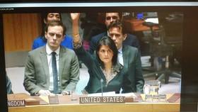 آمریکا قطعنامه پیشنهادی مصر درباره قدس را وتو کرد