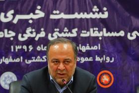 امیدوارم در آینده میزبان جام جهانی کشتی در اصفهان باشیم
